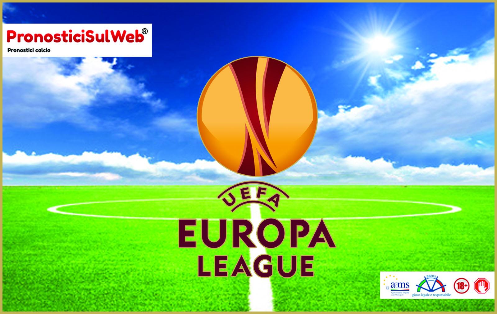 Pronostici passaggio del turno ottavi europa league