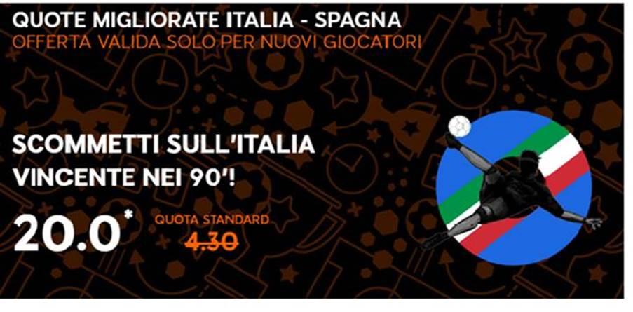 promo italia spagna euro 2016 888 sport