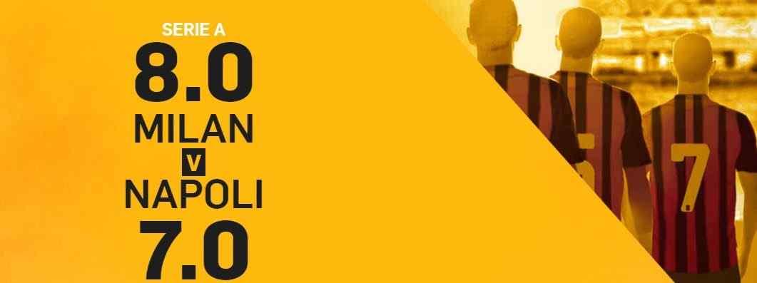 Promo di Betfair per la partita Milan Napoli!