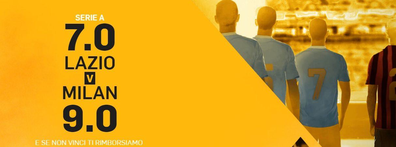 Promo di Betfair per la partita Lazio Milan!