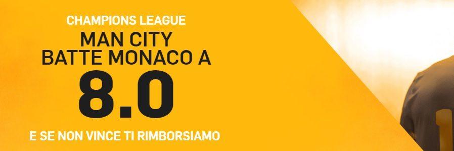 Promo di Betfair per la partita Monaco - Manchester City!