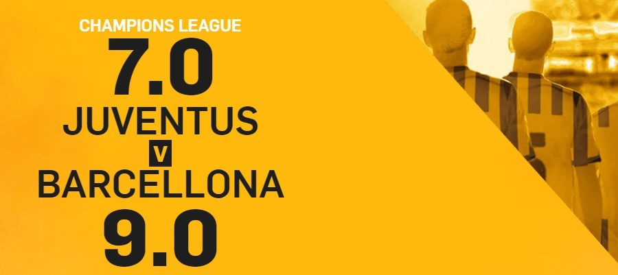 Promo di Betfair per la partita Juve Barcellona!