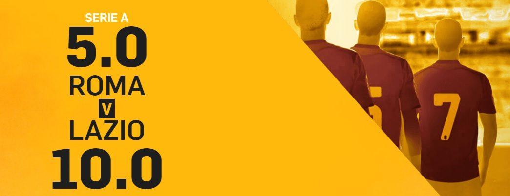 Promo di Betfair per la partita Roma Lazio!