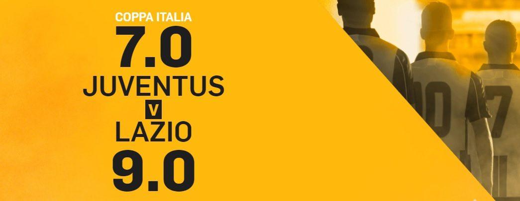 Promo di Betfair per la partita Juventus Napoli!