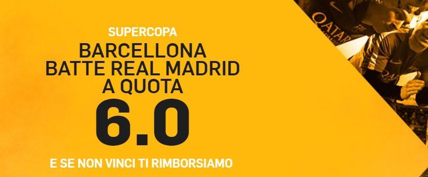 Promo di Betfair per la partita Barcellona Real!