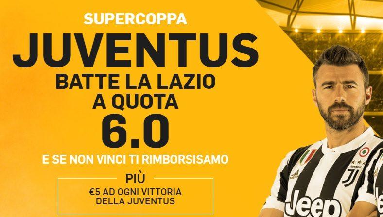 Promo di Betfair per la partita Juventus Lazio!
