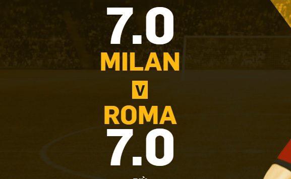 Promo di Betfair per la partita Milan Roma!