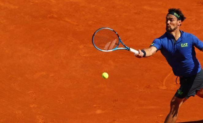 Tennis, Fognini agli ottavi dopo forfait Simon
