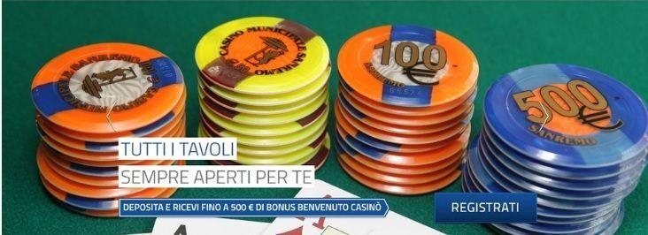 Sanremo Bonus