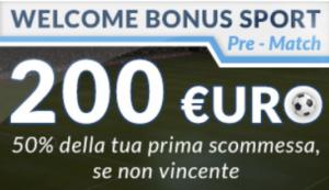 bonus benvenuto betflag 200