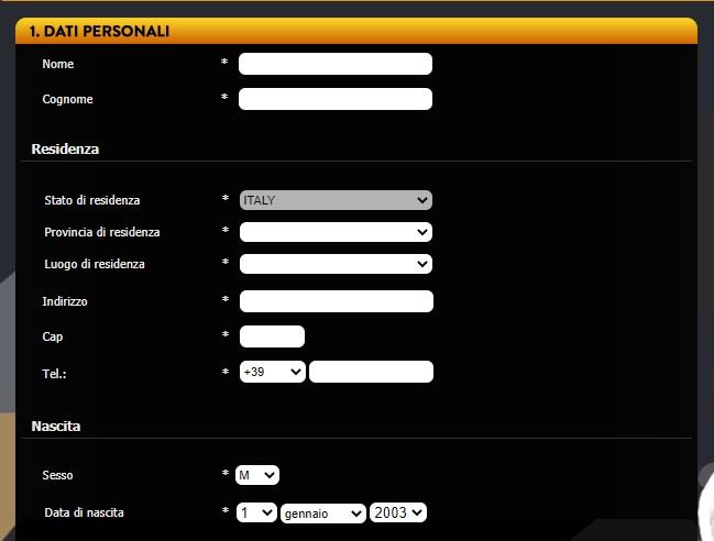 Planetwin registrazione